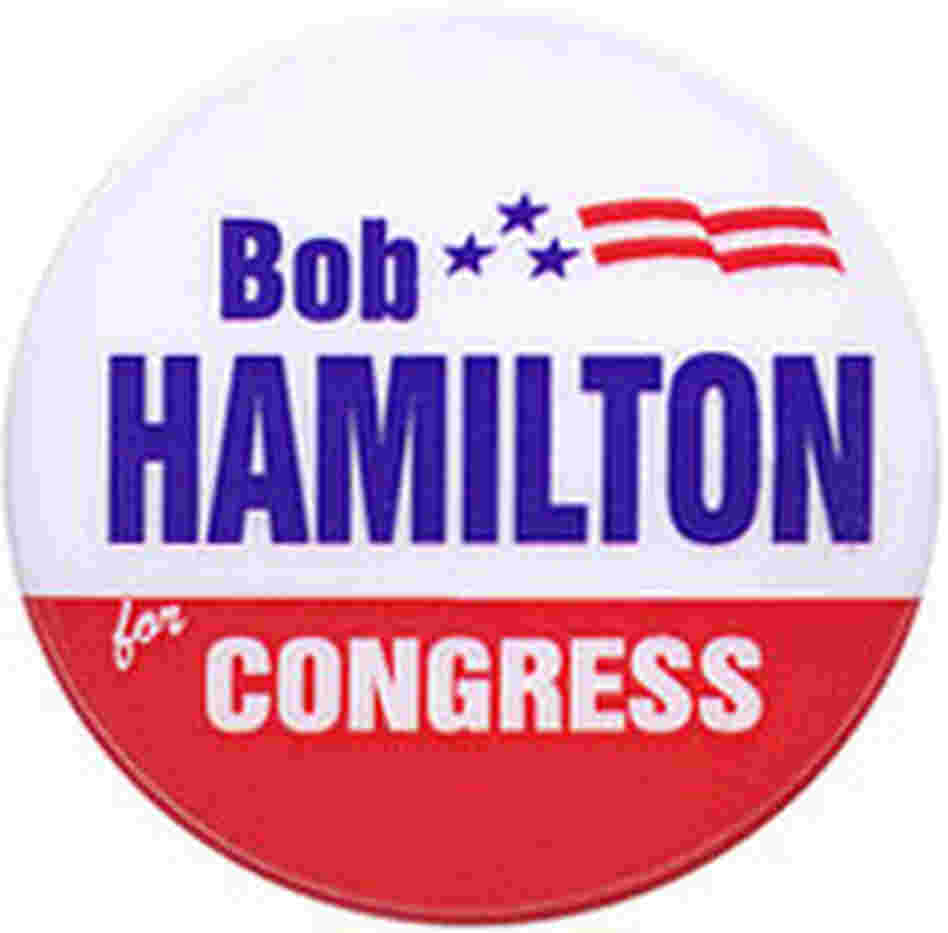 Hamilton for Congress button