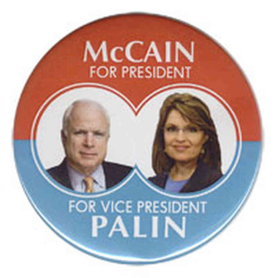 McCain-Palin campaign button
