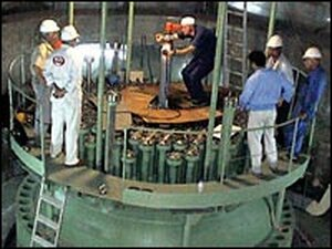 Nuclear reactor in Brushehr in southern Iran