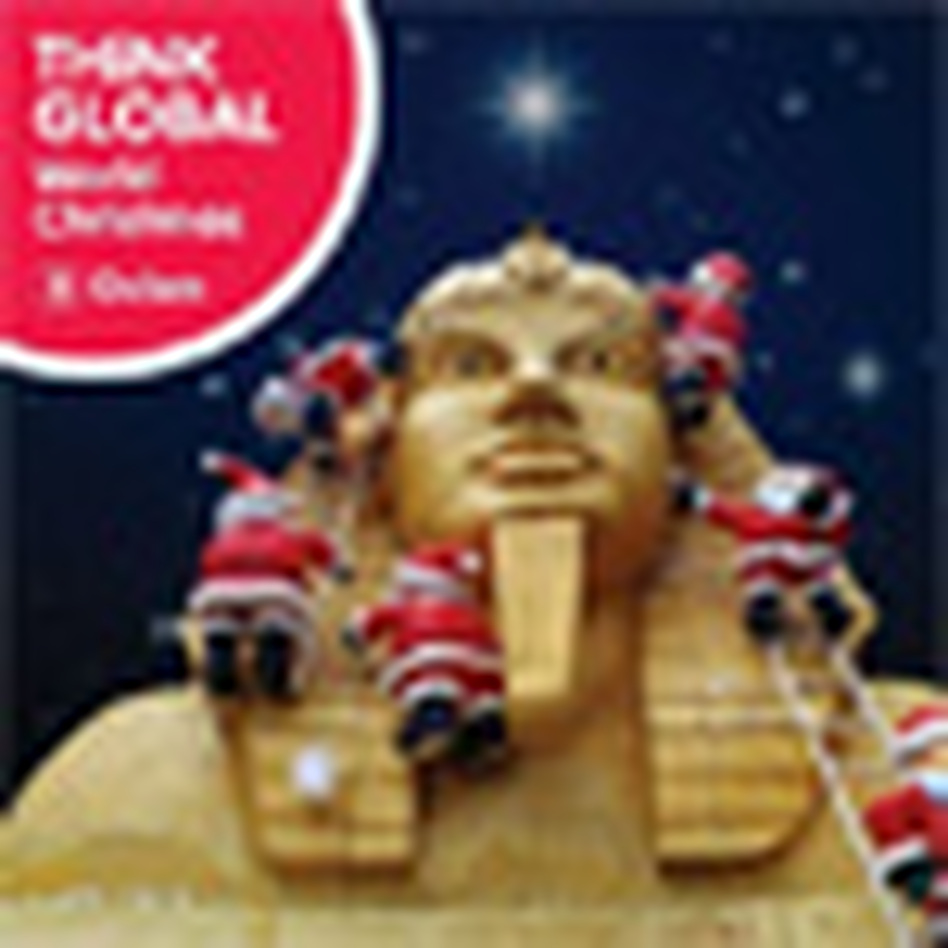 cover for think global: world christmas