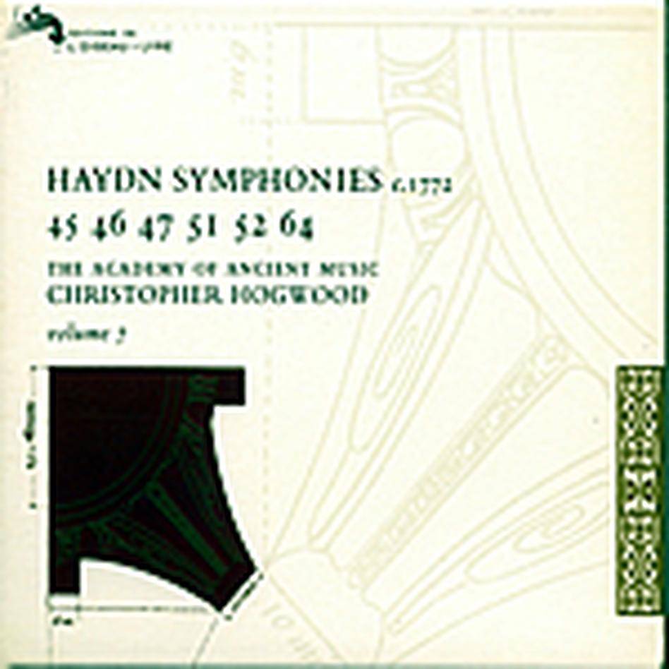 Haydn Symphonies 45, 46, 47, 51, 52, 64