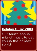 Holiday Music 2003