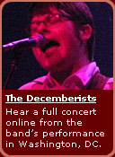 the decemberists in concert