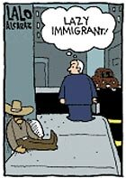 Something is. la cucaracha comic strip