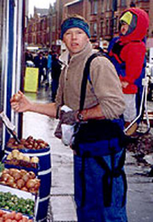 Joel Bottem finds onion for relish in Scotland market