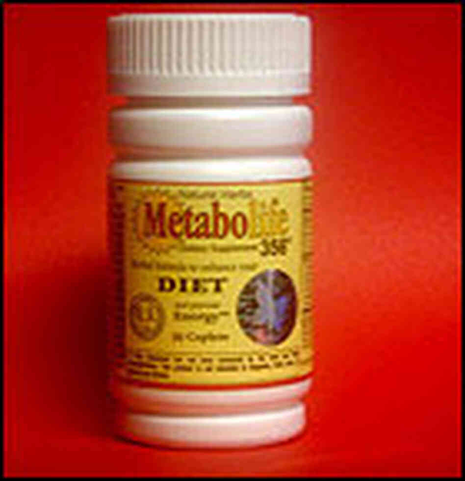 Metabolife Bottle