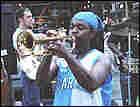 Chicago jazz man Mario Abney.