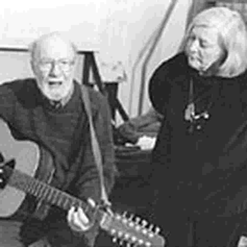 Pete Seeger and Barbara Dane