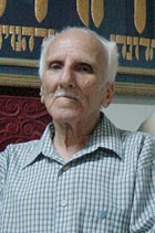Ezra Levy, the Baghdad Jewish community's lay rabbi