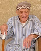 90-year-old Tawfiq Sofer is the oldest member of the 35-strong Baghdad Jewish community