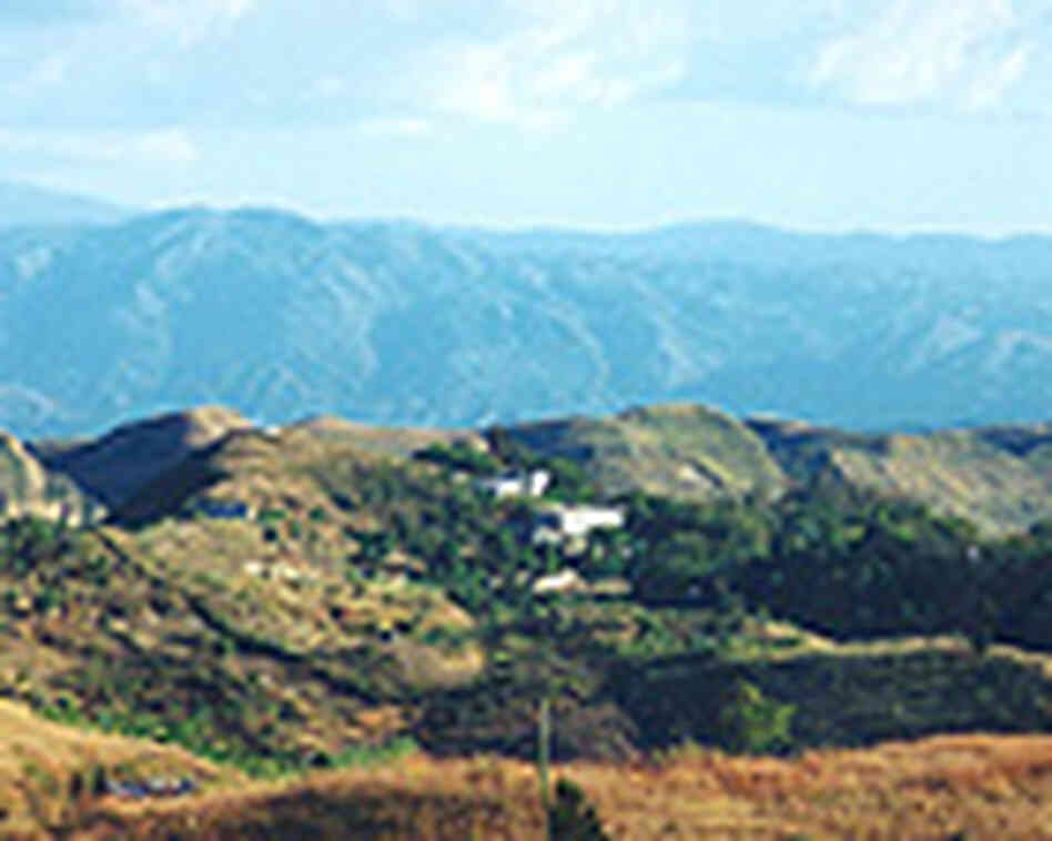 In the mountains of Haiti, the village of Zanmi Lazante.