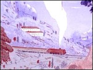 From the cover of 'Orient Express' by Graham Greene