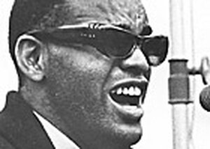 Soul music pioneer Ray Charles, 1930-2004.
