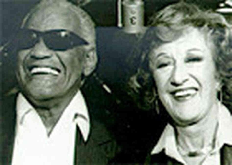 Ray Charles and NPR's Marian McPartland