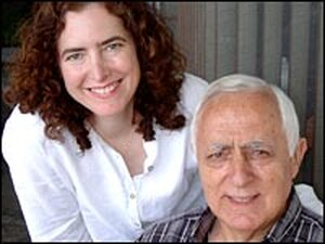 Diana Abu-Jaber and her father, Gus.