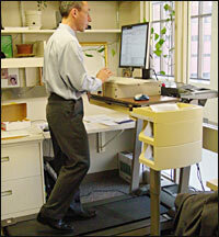 Wiggle While You Work Study Finds >> Wiggle While You Work Fidgeting May Fight Fat Npr