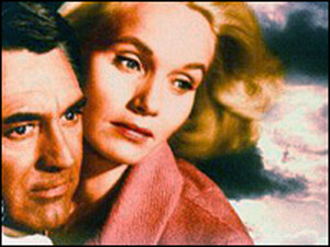 Eva Marie Saint, right, starred with Cary Grant in 'North by Northwest'