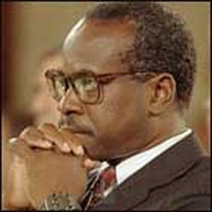 Clarence Thomas during his 1991 confirmation hearings