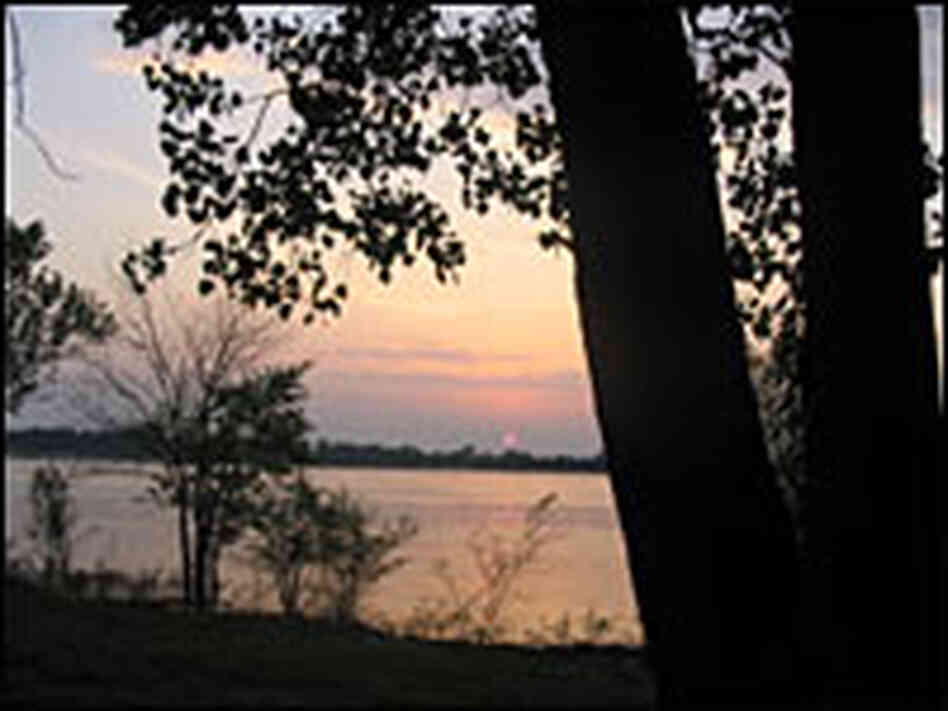 The Mississippi River at Mounds Landing