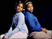 Sisters Thelma (left), 11, and Fantasia, 12.