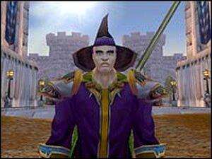 Galt, a warlock, in 'World of Warcraft'