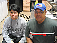 Connie Rendon, shown with her husband Hector.