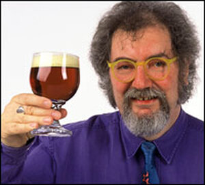Beer expert Michael Jackson joined the discussion from London.