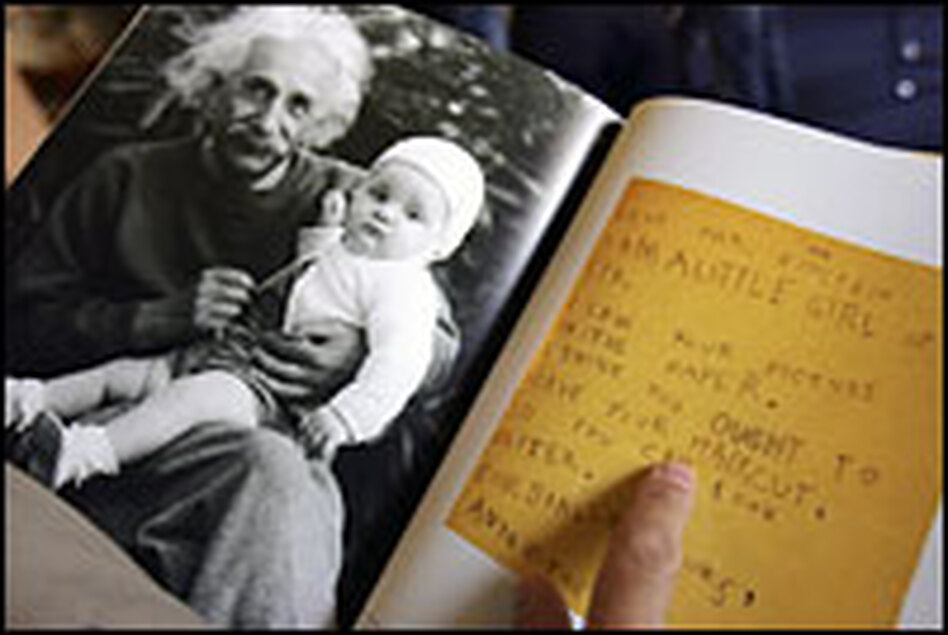 More than 3,500 pages of correspondence between Albert Einstein and two of his wives and children were released at the Hebrew University in Jerusalem on July 10.