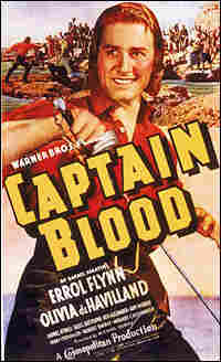 Errol Flynn in 'Captain Blood'