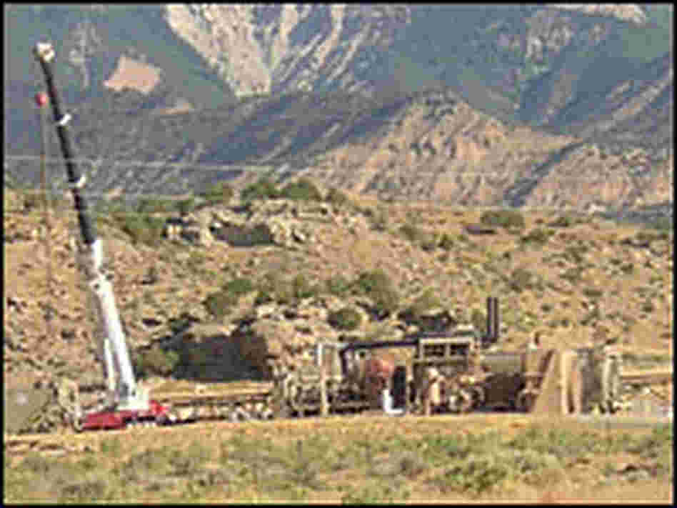 Drilling already occurs around much of the plateau's base.
