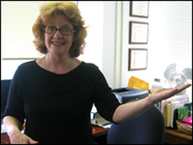 Janet Bailey, a performing-arts interpreter, is president of Sign Language Associates.