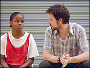 Ryan Gosling and Shareeka Epps