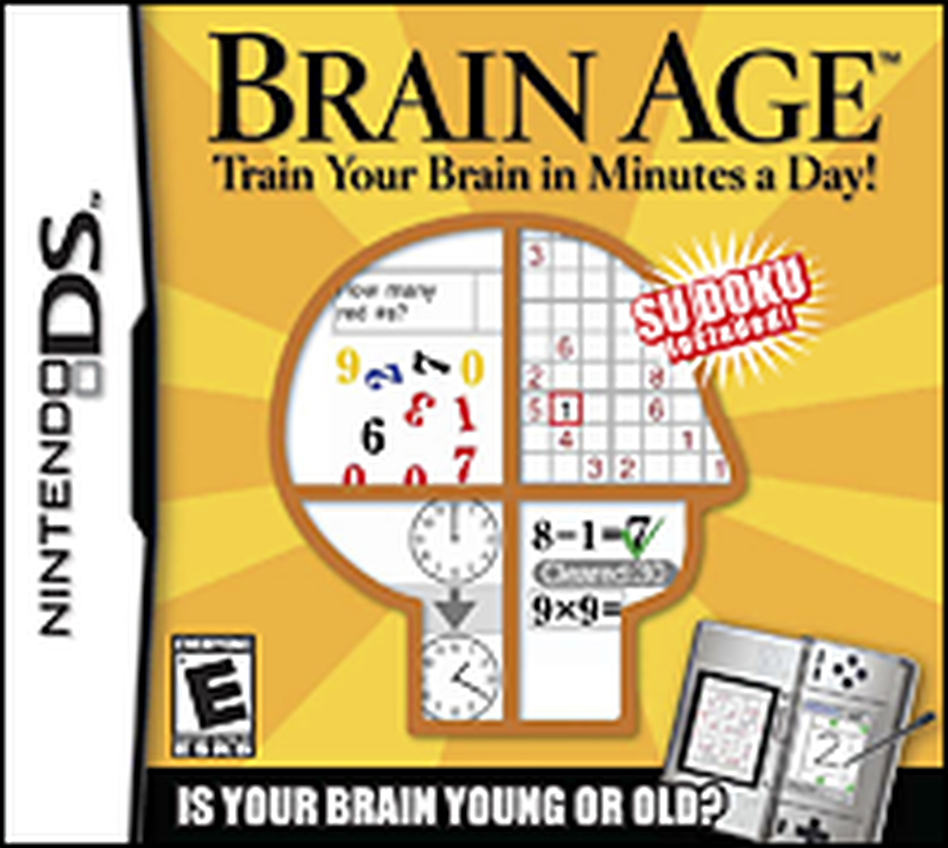 Brain Age is predicated on the idea that your brain is a muscle that needs training like any other muscle.