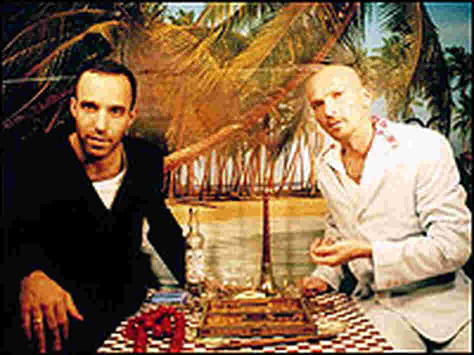 Balkan Beatbox founders Ori Kaplan and Tamir Muskat.