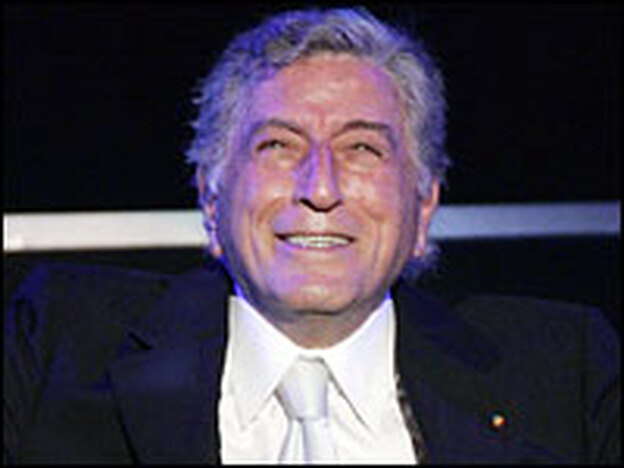 Tony Bennett appears onstage earlier this month at Hollywood's Kodak Theatre during a show celebrating his 80th birthday.