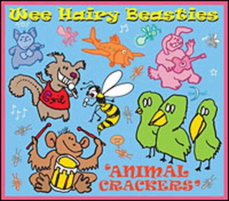 Wee Hairy Beasties 'Animal Crackers'