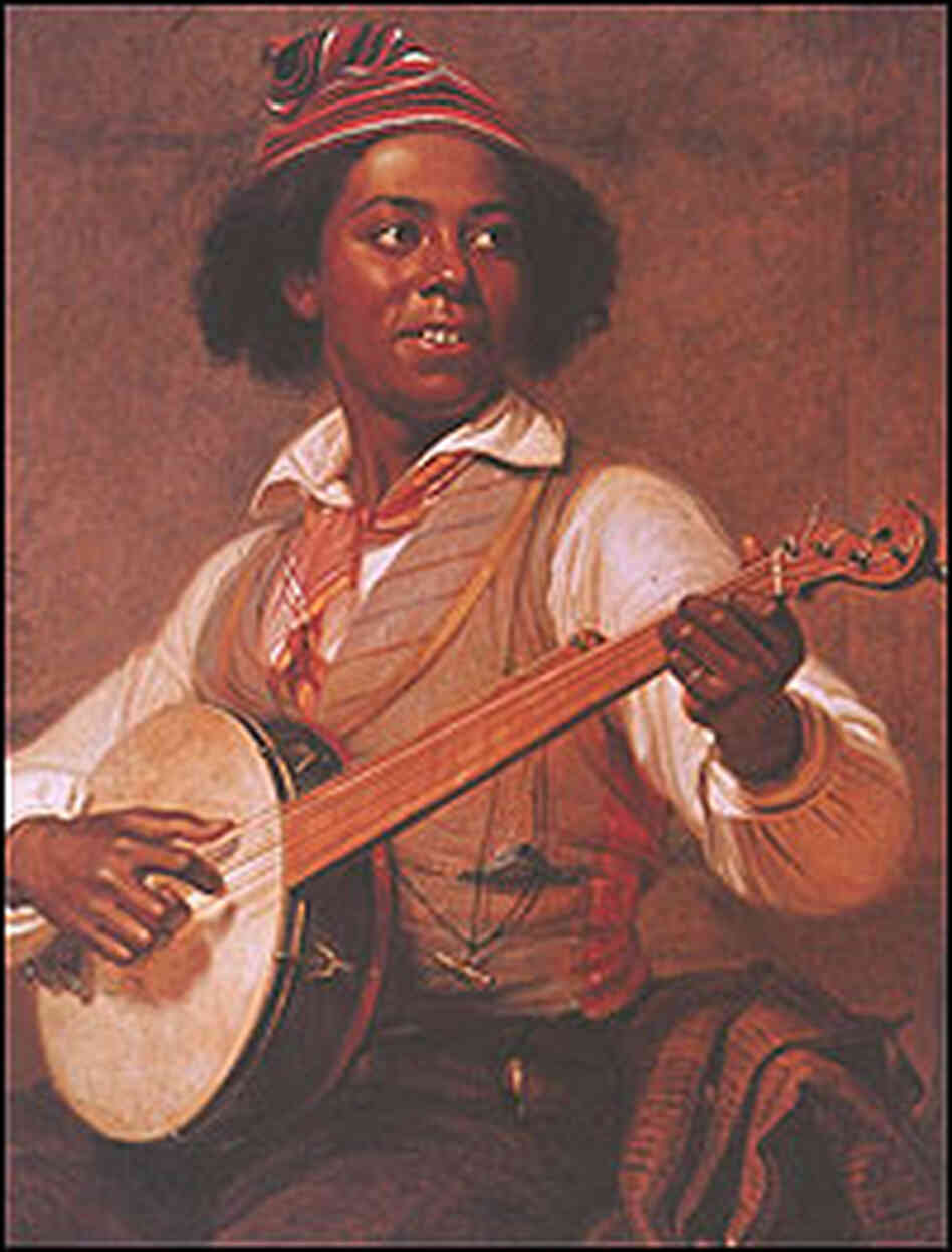 The Banjo Player, a painting by William Sydney Mount.