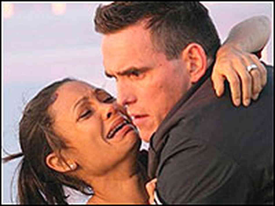 Thandie Newton and Matt Dillon in 'Crash'