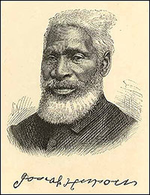A portrait of Josiah Henson.