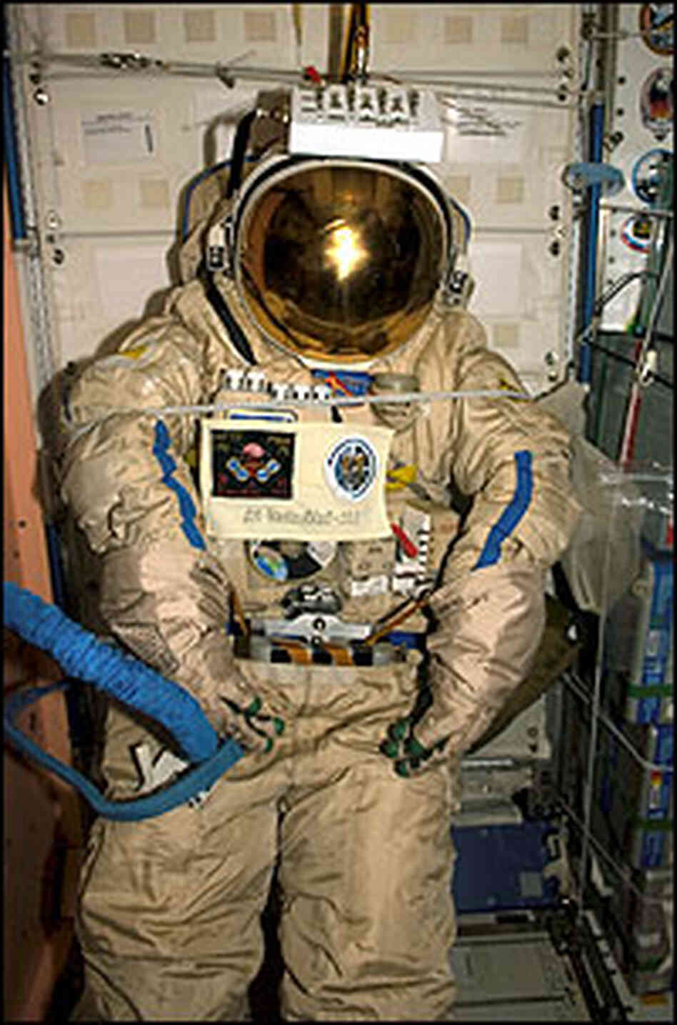 Space Suit to Orbit Earth : NPR