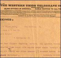 Western Union Sends Its Last Telegram