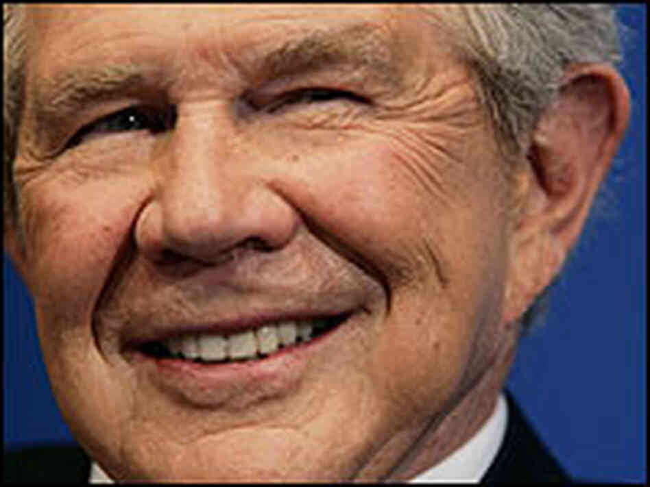Pat Robertson, founder and chairman of the Christian Broadcasting Network.