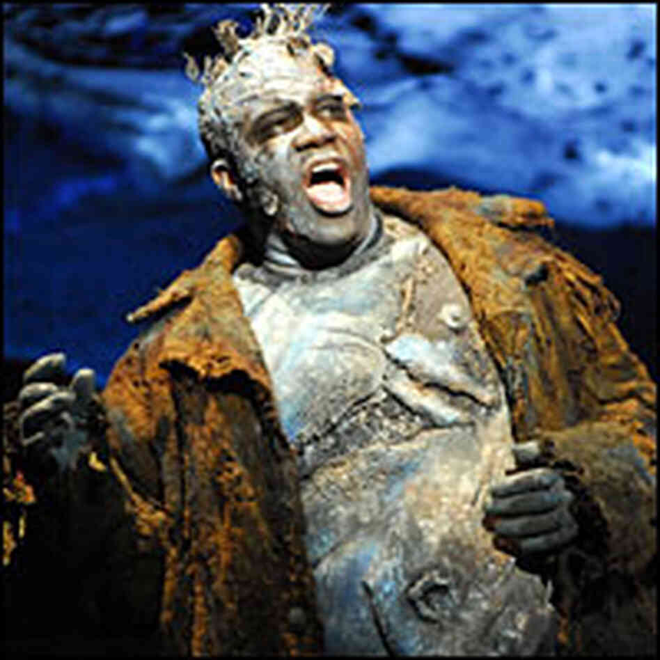 Bass-baritone Eric Owens plays Grendel