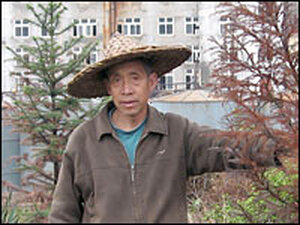Song Linsong says the countryside in Xiping village is dying