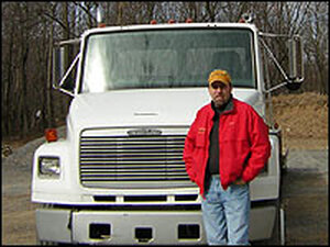 Jeffrey Mather was a truck driver until last year, when he was diagnosed with diabetes.