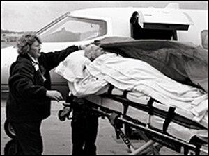 Susan Sontag, leaving Seattle