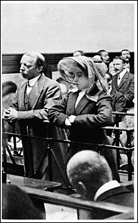 Crippen and Le Neve on trial