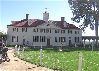 Taking the boring out of george washington npr for George washington plantation