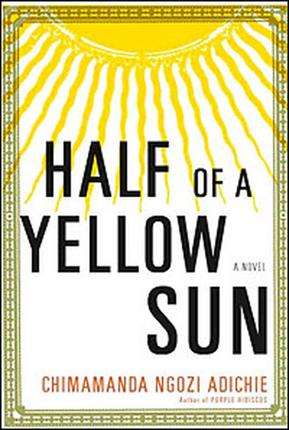 'Half of a Yellow Sun' Cover