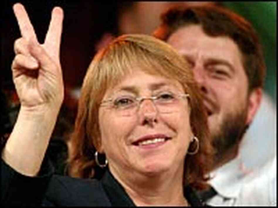 In 2006, Michelle Bachelet became Chile's first-ever female president